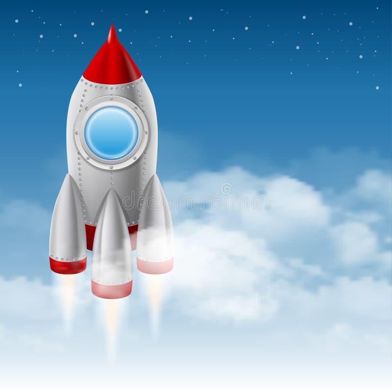 ruimteschip vector illustratie