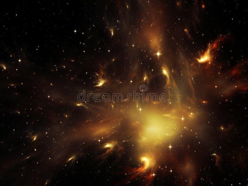 Ruimtetextuur vector illustratie