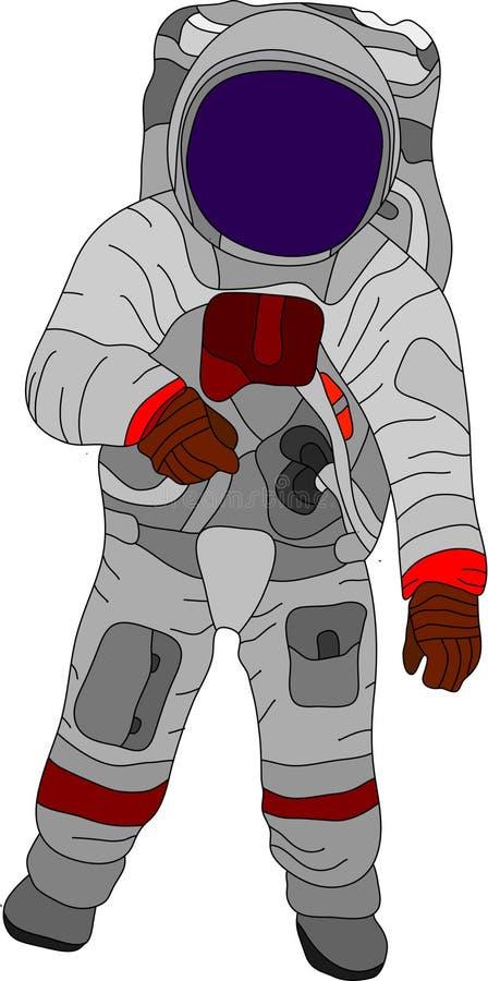 Ruimtevaarder vector illustratie
