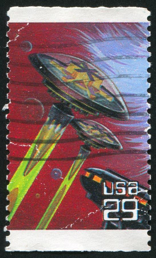 ruimtevaartuigen royalty-vrije stock afbeeldingen