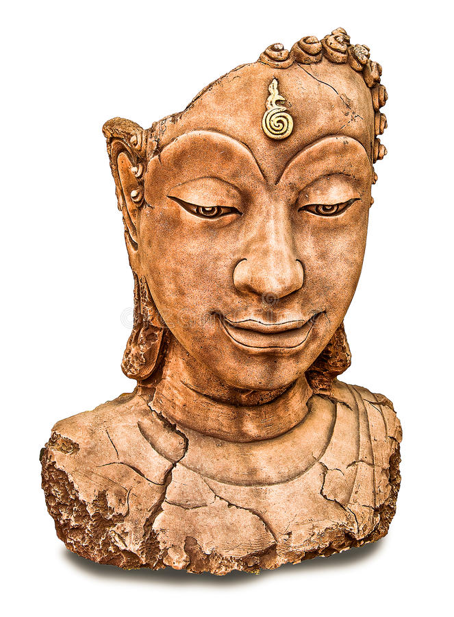 Download The Ruin of buddha status stock image. Image of historical - 28327353