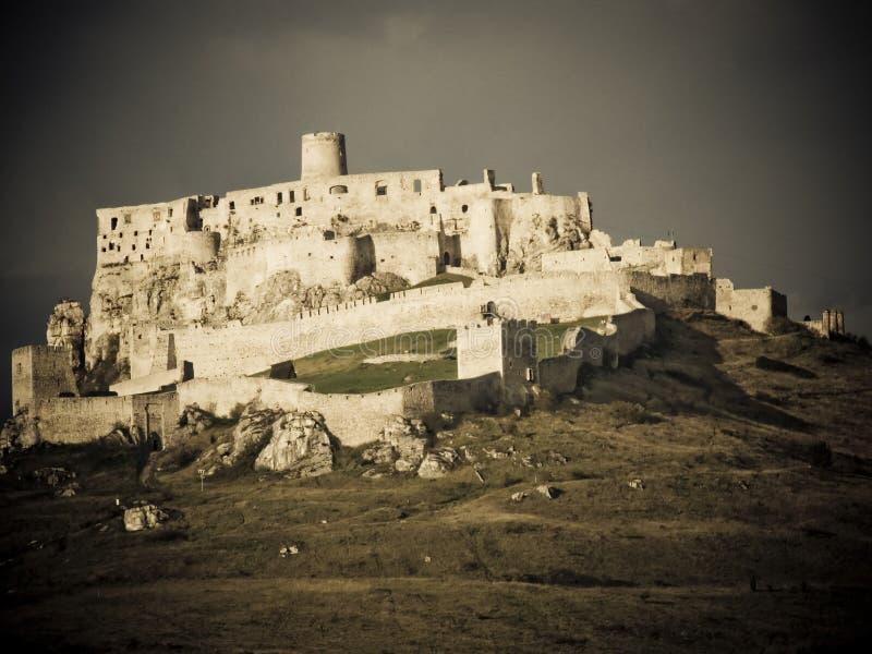Ruin of castle royalty free stock photos