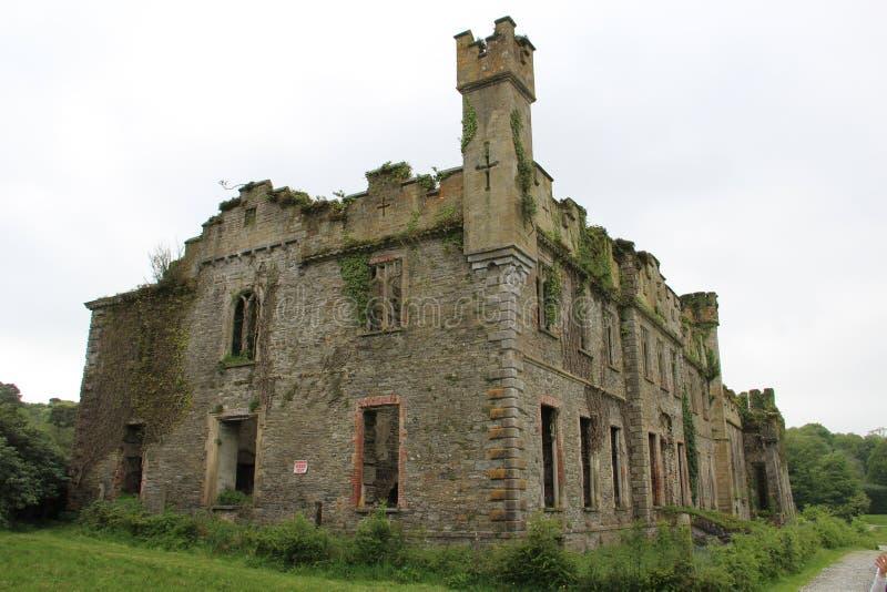Ruin of Castle Bernard royalty free stock image