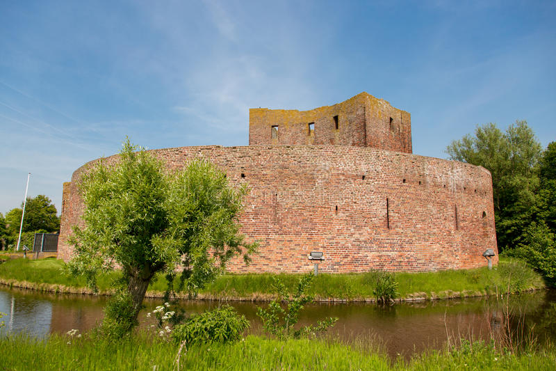 The ruin castle Teylingen in Sassenheim. The ruin castle Teylingen in Sassenheim in the Netherlands stock photos