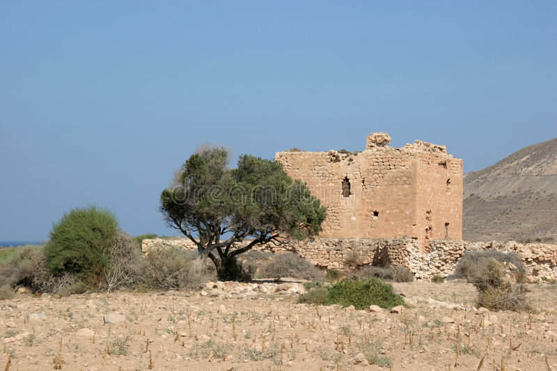 Download Ruin in the desert stock image. Image of ancient, mediterranean - 1562133