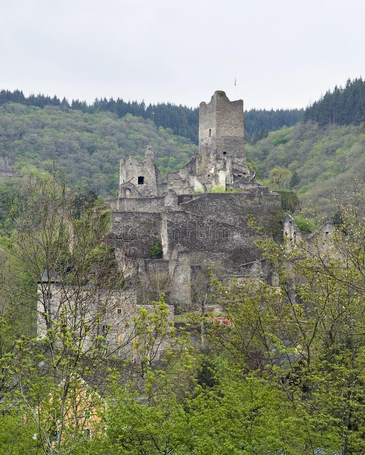 Ruin In The Eifel Royalty Free Stock Photo