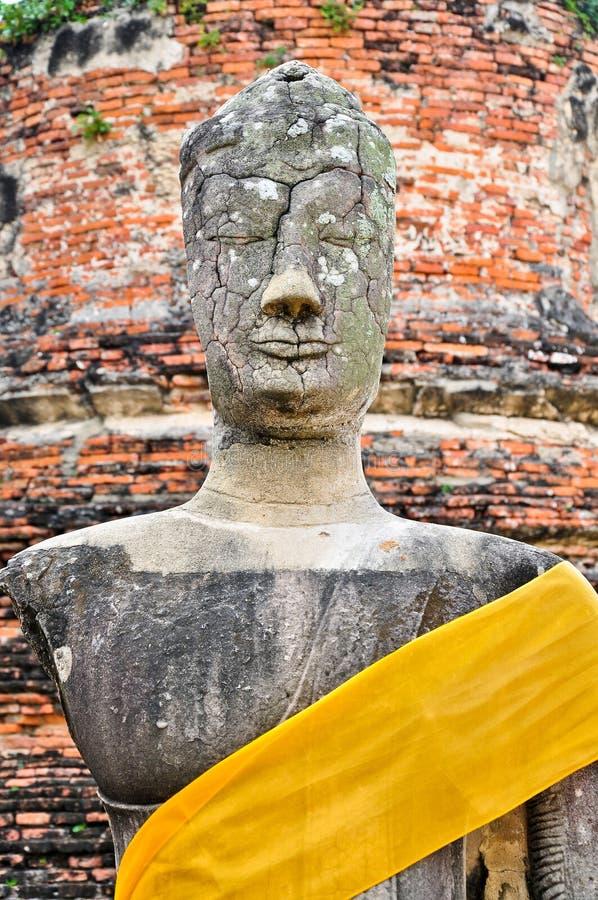 Ruin Image of Buddha
