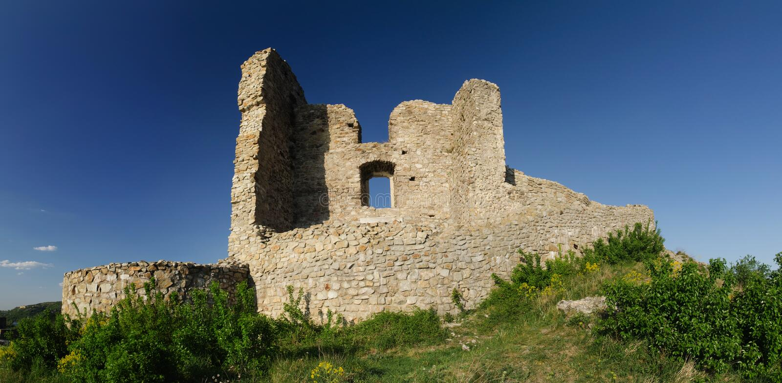 Ruin Od Devin Castle Royalty Free Stock Images