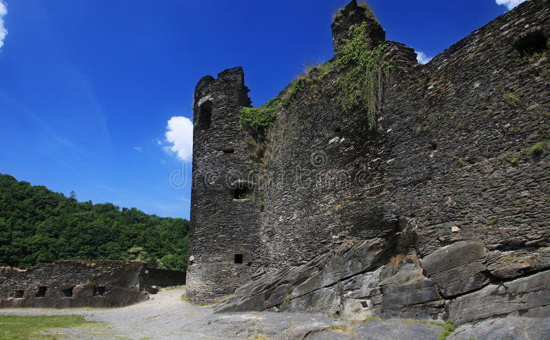 Ruin , old castle stock photography