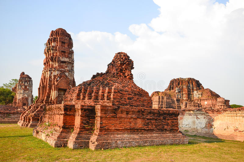 Download Ruin Pagodas Stock Photography - Image: 25850312