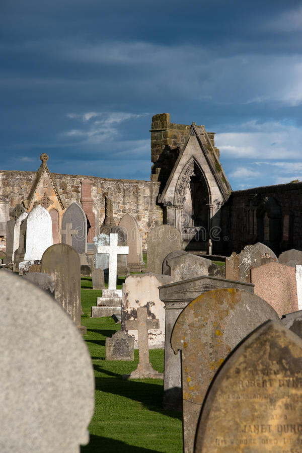 Ruin of St. Andrews royalty free stock photos