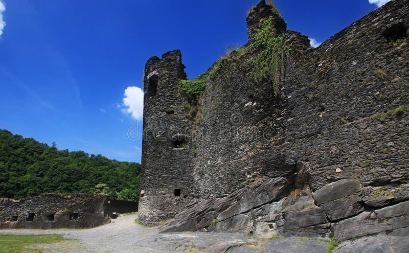 Ruina, castillo viejo fotografía de archivo