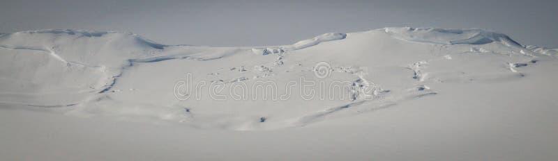 Ruina de la avalancha, Alaska imagen de archivo