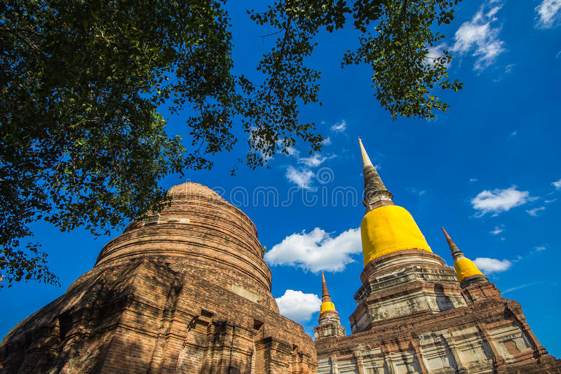 Ruina de la pagoda imágenes de archivo libres de regalías