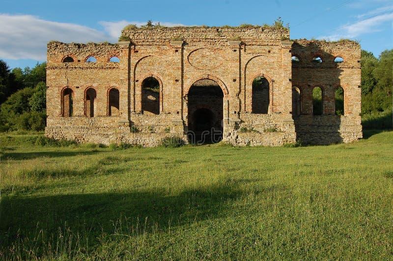 Ruina de la planta de fundición, Frantiskova Huta, Eslovaquia foto de archivo