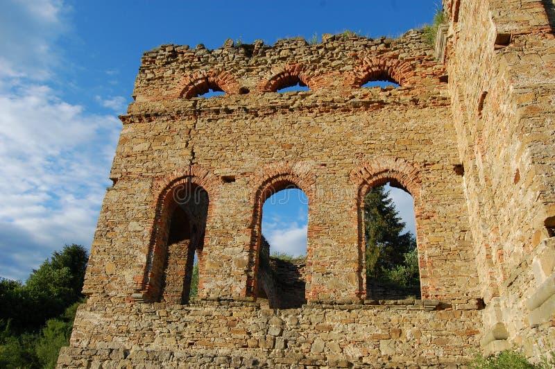 Ruina de la planta de fundición, Frantiskova Huta, Eslovaquia imagen de archivo libre de regalías