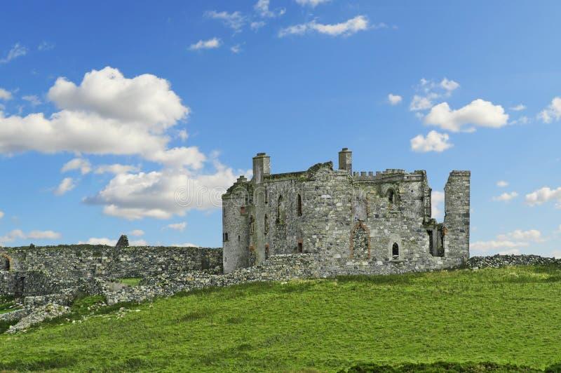 Ruina del castillo imágenes de archivo libres de regalías