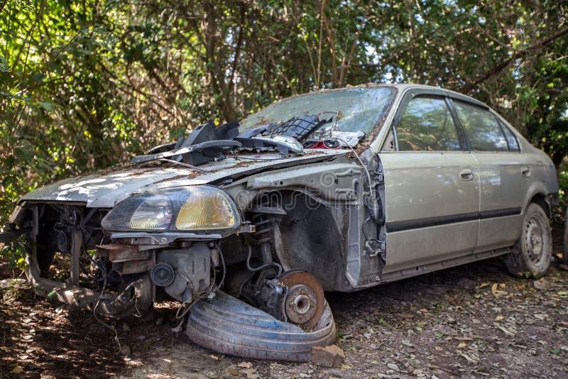 Ruina del coche imagen de archivo libre de regalías
