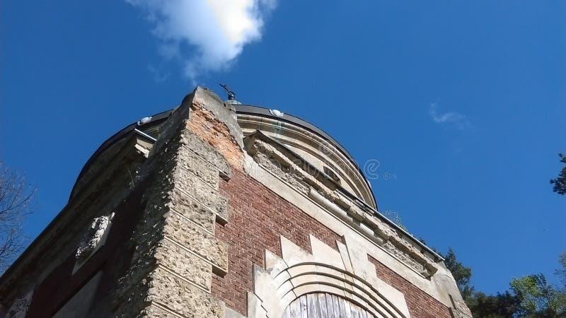 Ruina del mausoleo fotografía de archivo libre de regalías