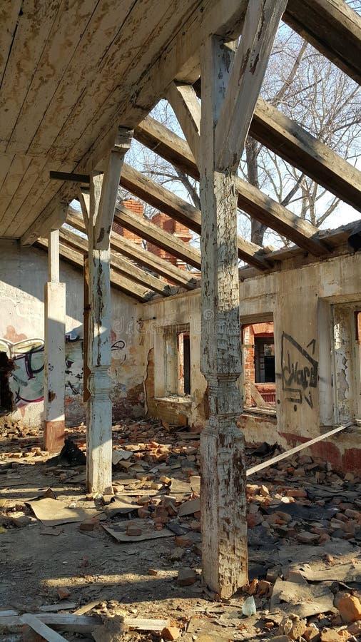 Ruinas 1 imagen de archivo libre de regalías