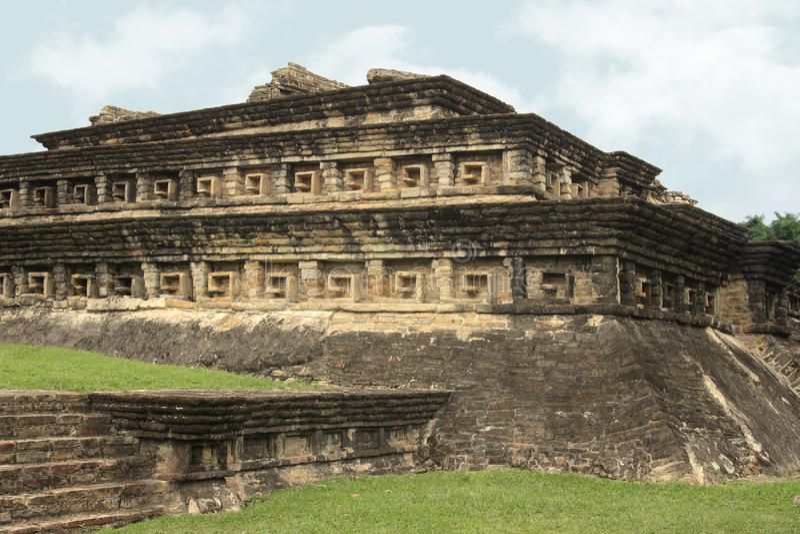 Ruinas arqueológicas del EL Tajin, Veracruz, México imagenes de archivo