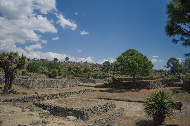 Ruinas arqueológicas en México imágenes de archivo libres de regalías
