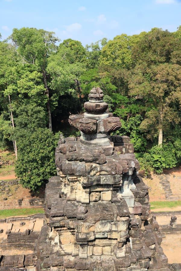 Ruinas de Angkor, Camboya fotografía de archivo