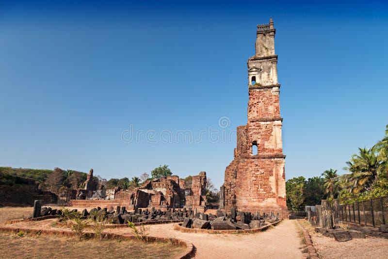 Ruinas de Augustine fotografía de archivo