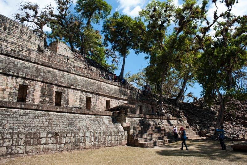 Ruinas de Copan fotos de archivo libres de regalías