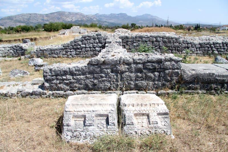 Ruinas de Duclea fotos de archivo libres de regalías