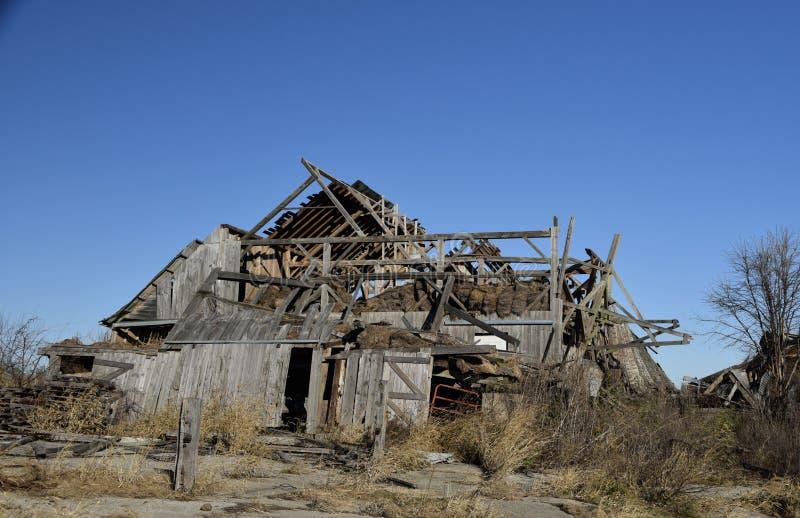 Ruinas de Hay Barn imagen de archivo