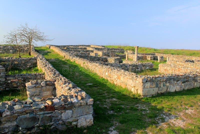 Ruinas de Histria fotos de archivo