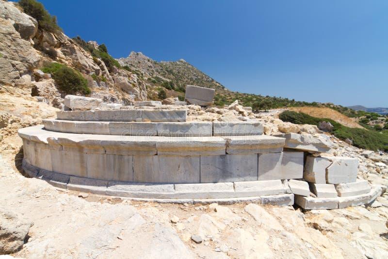 Ruinas de Knidos imagenes de archivo