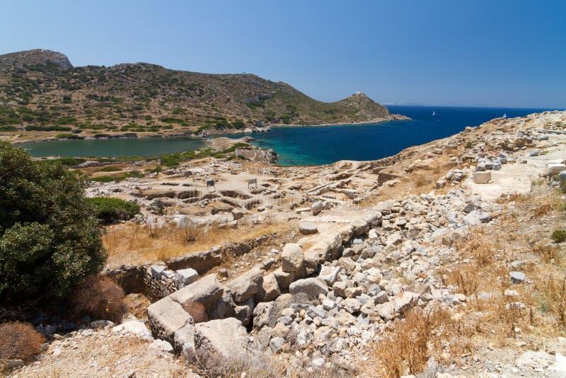 Ruinas de Knidos foto de archivo libre de regalías