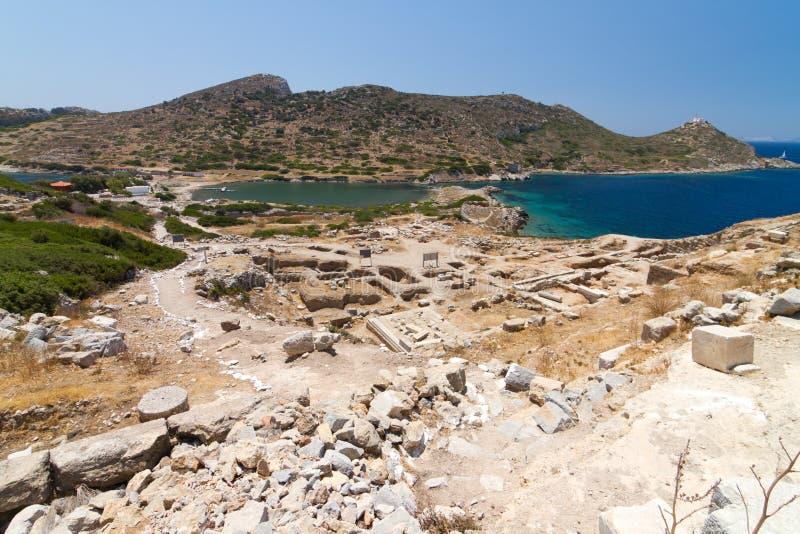 Ruinas de Knidos fotografía de archivo libre de regalías