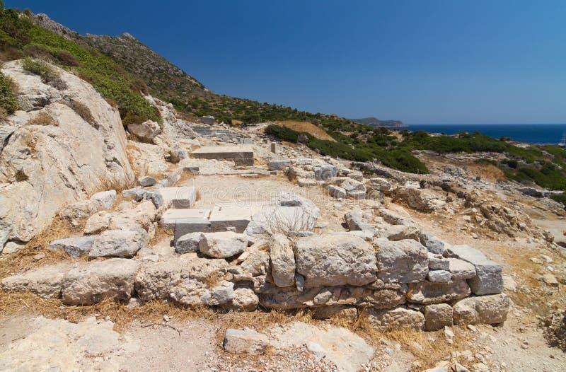 Ruinas de Knidos imagen de archivo libre de regalías