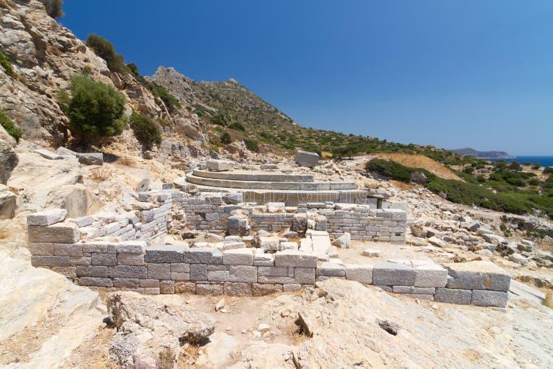 Ruinas de Knidos fotos de archivo