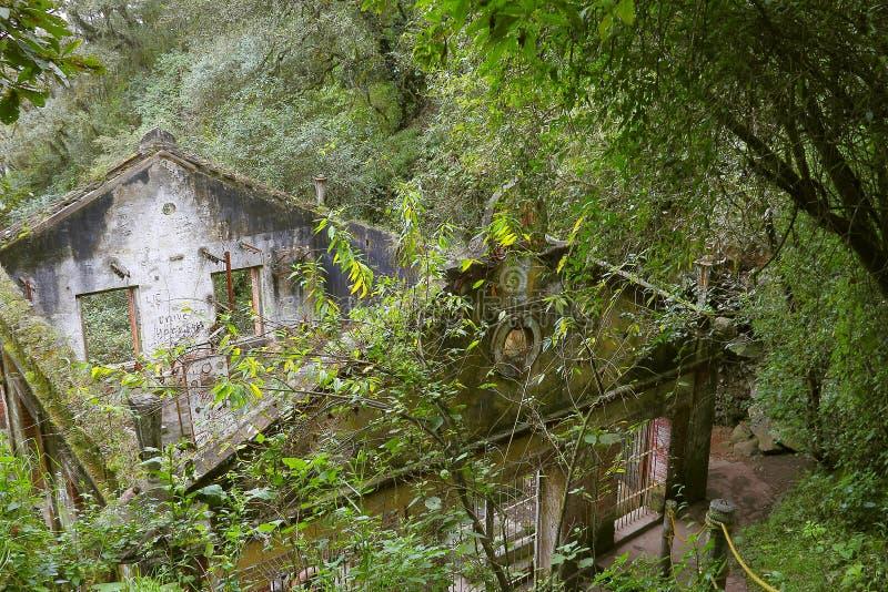 Ruinas de la central eléctrica I imágenes de archivo libres de regalías