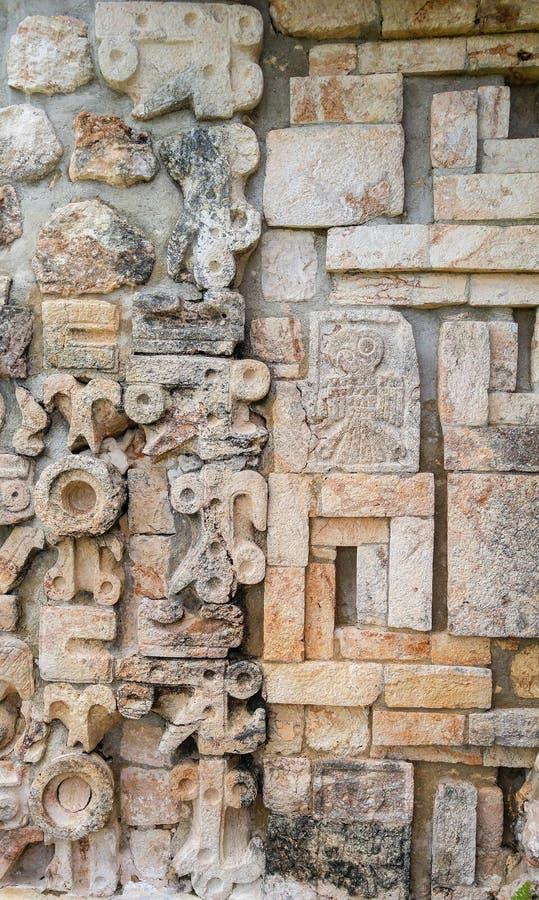 Ruinas de la ciudad antigua de Uxmal imagen de archivo