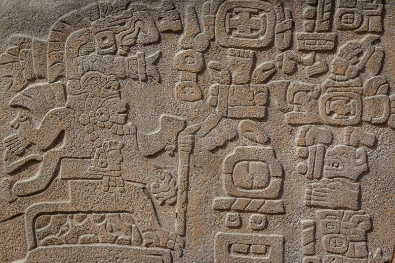 Ruinas de la ciudad Monte Alban, Oaxaca de los pre-hispanos del zapotec imagenes de archivo