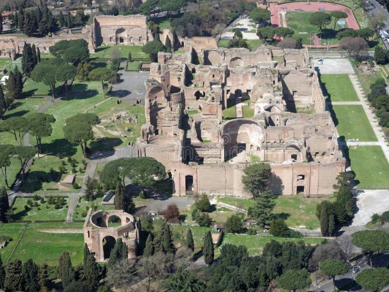 Ruinas de la colina de Palatine imagen de archivo libre de regalías