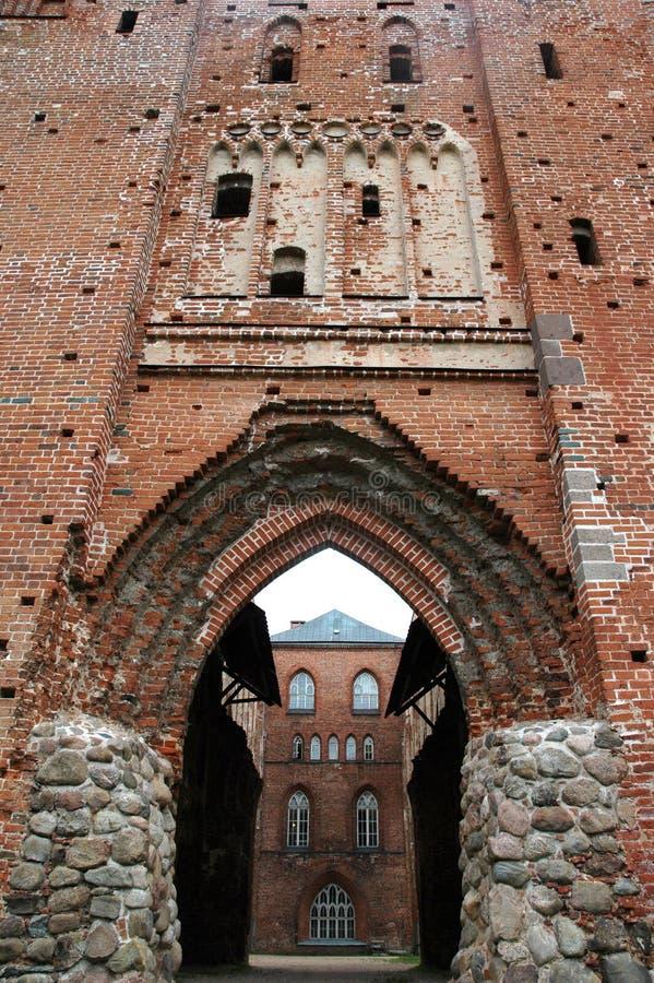 Ruinas de la iglesia imagen de archivo