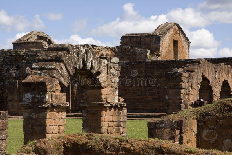 Ruinas de la jesuita en Trinidad foto de archivo