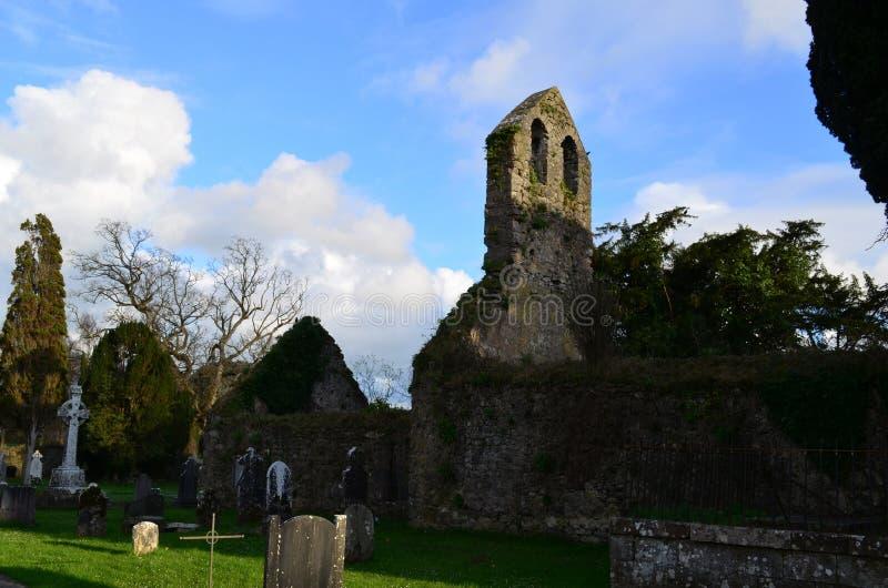 Ruinas de la piedra del monasterio franciscano imagen de archivo libre de regalías