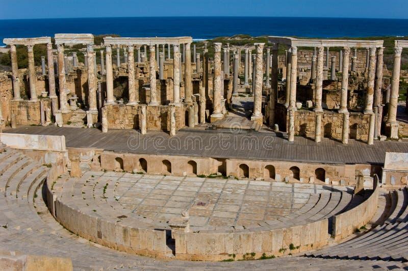 Ruinas de las columnas fotografía de archivo libre de regalías