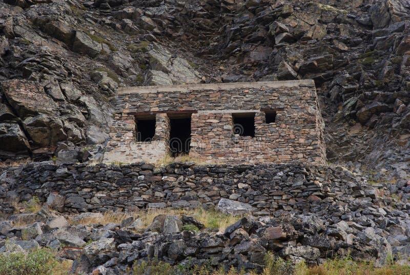 Ruinas de las jefaturas militares alemanas. Rusia imágenes de archivo libres de regalías