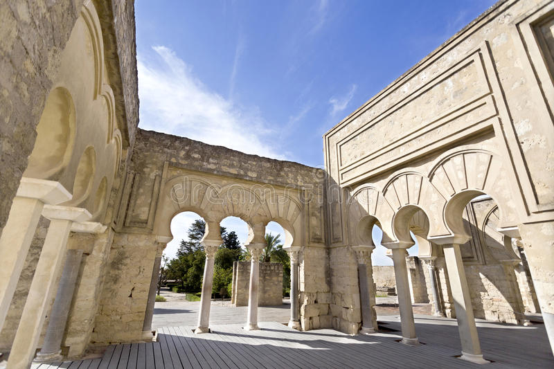 Ruinas de Medina Azahara imágenes de archivo libres de regalías