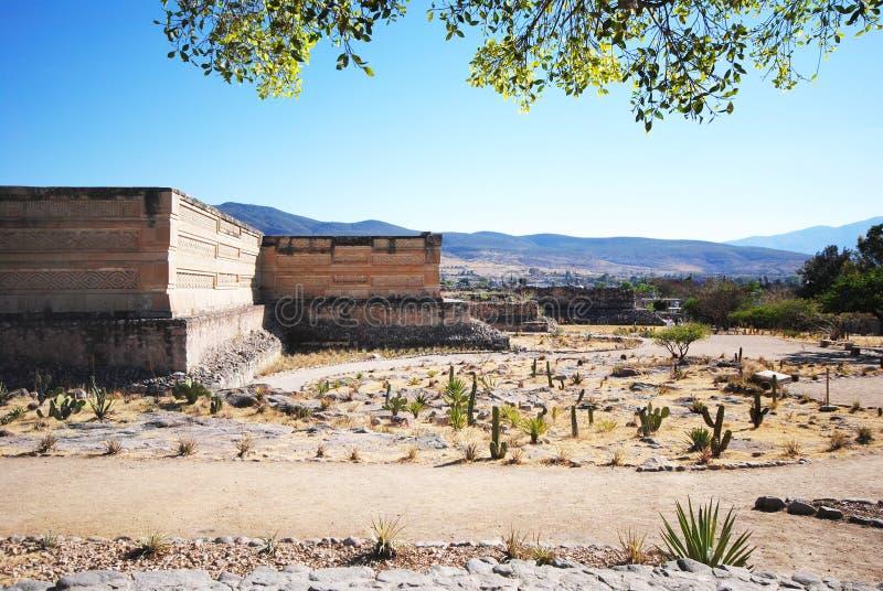 Ruinas de Mitla, México imagen de archivo