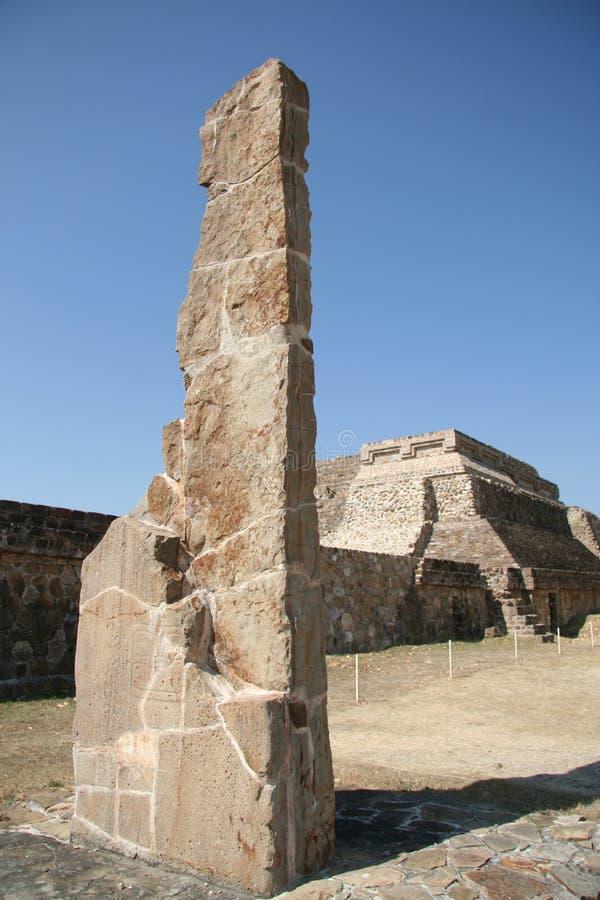 Ruinas de Monte Alban fotos de archivo