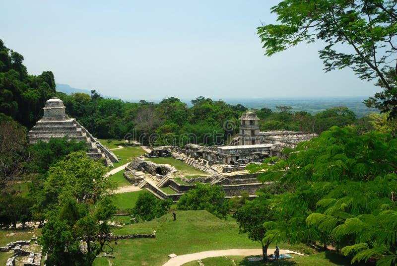 Ruinas de Palenque foto de archivo libre de regalías